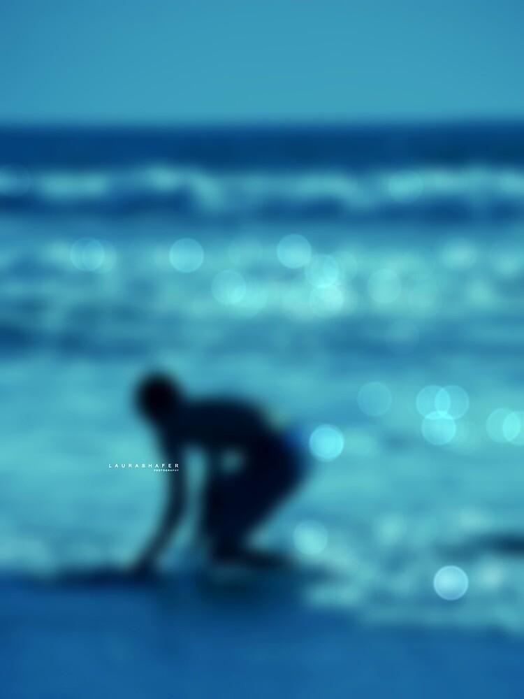 SURF EN BLEU by Laura E  Shafer