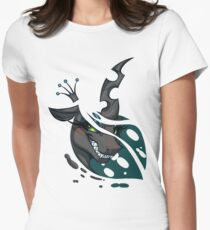 Queen Chrysalis Women's Fitted T-Shirt