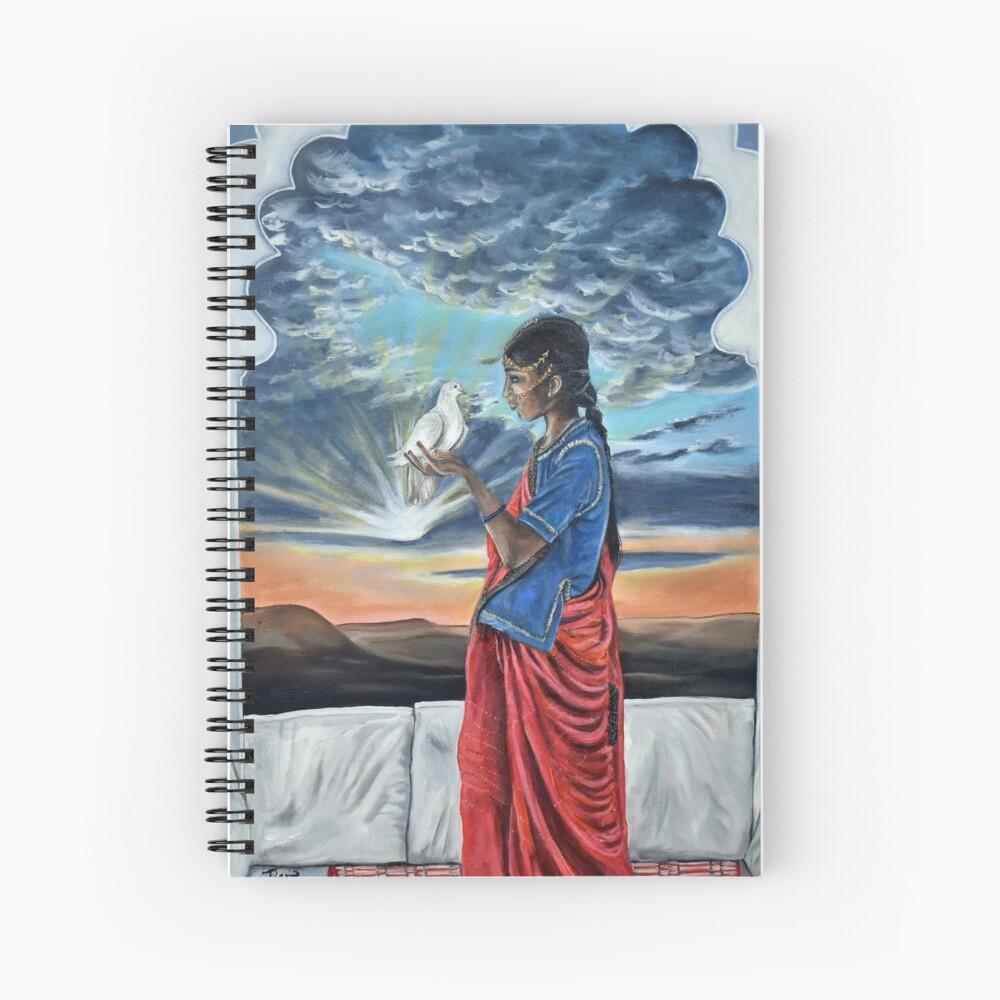 Farewell Spiral Notebook