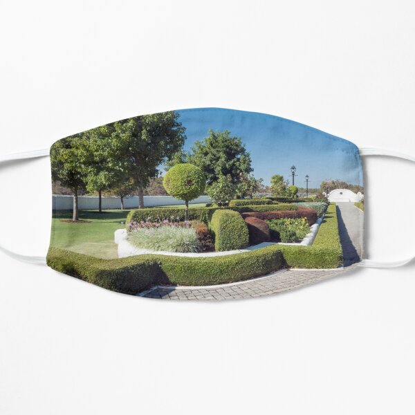 Topiary Gardens #3 Flat Mask