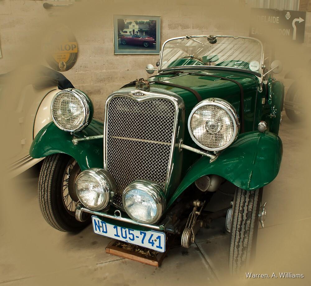 Singer Le Mans  1934 by Warren. A. Williams