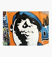 Melbourne street art poster cheap as buy it now Photographic Print