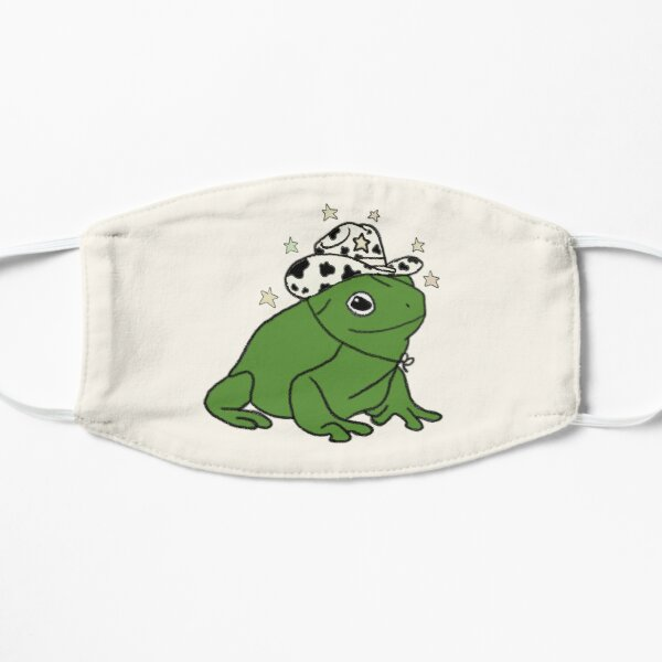 Frog with a cowboy hat ★ Flat Mask