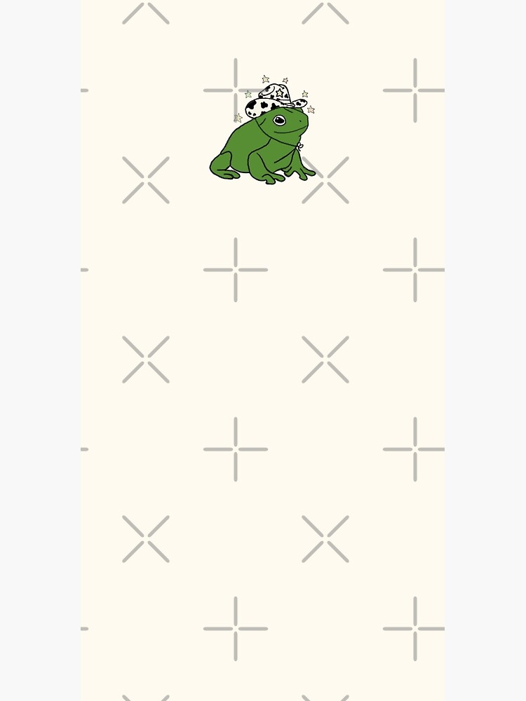 Frog with a cowboy hat ★ by sunflwrmike7