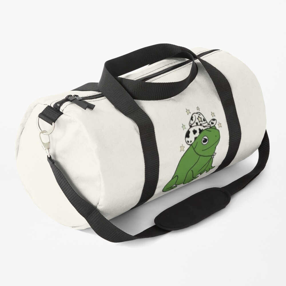 Frog with a cowboy hat ★ Duffle Bag