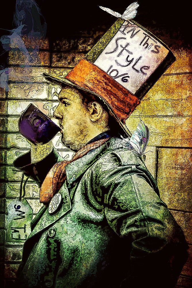 Tea Time for the Hatter by Samuel Vega