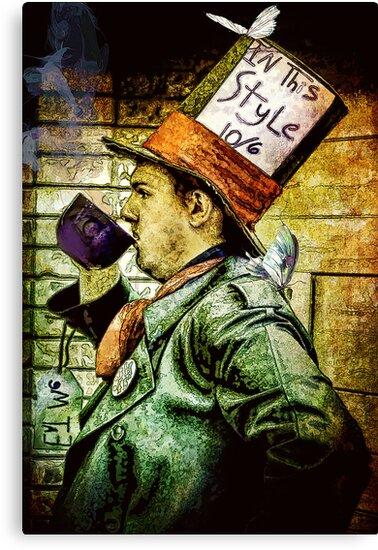 Tea Time for the Hatter by Samuel Vega