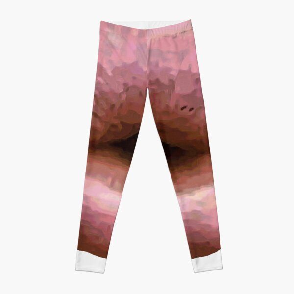 Trout Pout Pink Leggings