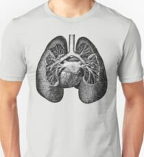 Anatomical Lungs Unisex T-Shirt