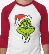 Santa The Grinch Christmas Men's Baseball ¾ T-Shirt