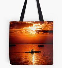 the paddler Tote Bag