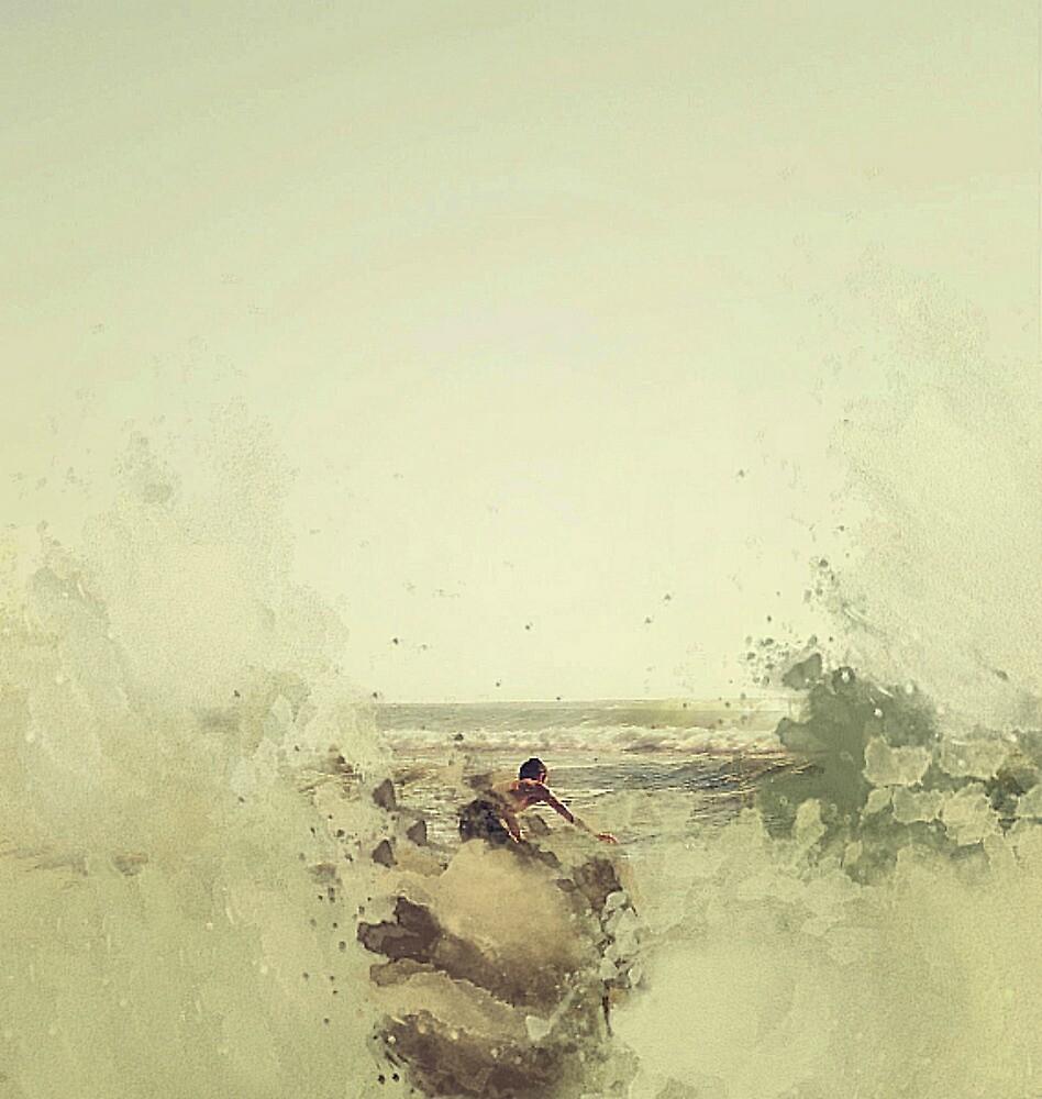 IMPRESSION - SOUL SURFER NEUTRAL by Laura E  Shafer
