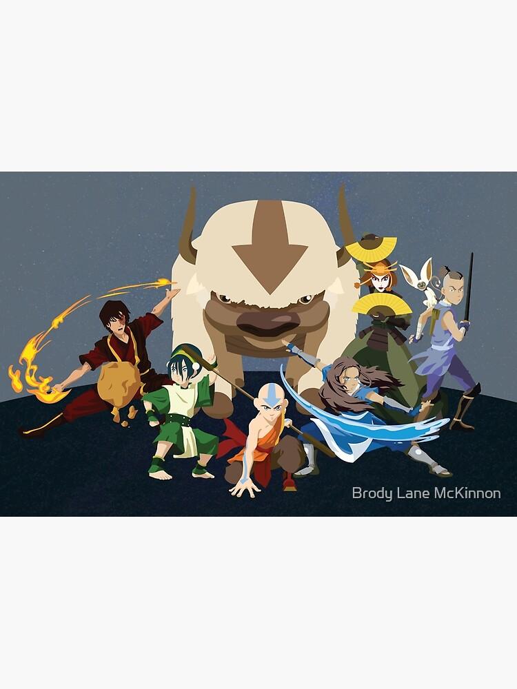 Avatar Gaang - Team Avatar by BrodyLMcKinnon
