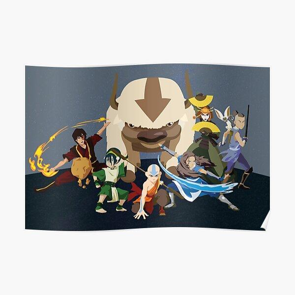 Avatar Gaang - Team Avatar Poster