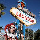 Peace Jester in Las Vegas by jollykangaroo