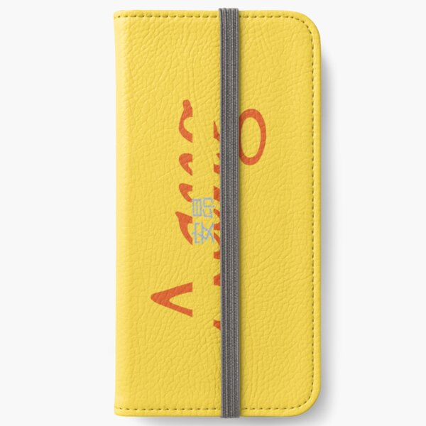 Aang Nameplate iPhone Wallet