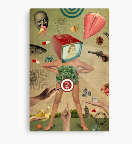 Xposed Collection -- Tamed Canvas Print
