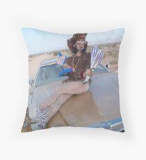 Leopard Juggler Throw Pillow