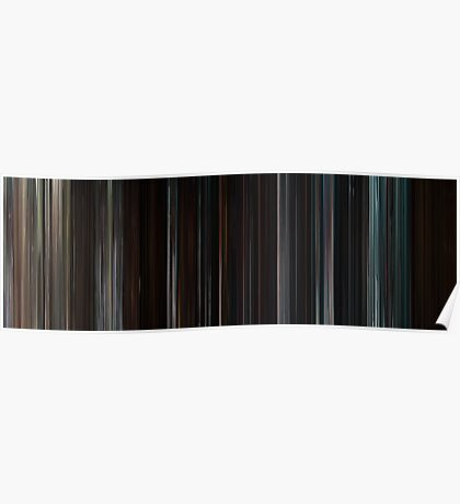 Moviebarcode: The Cabin in the Woods (2011) Poster