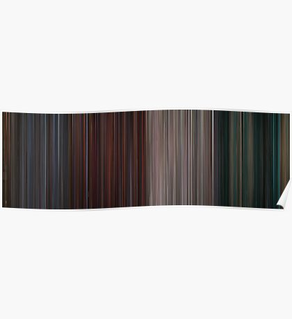 Moviebarcode: The Complete Die Hard Quadrilogy (1988-2007) Poster
