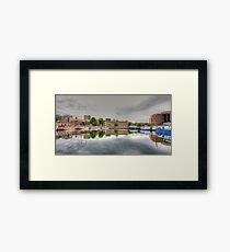 Water front, Hobart Tasmania Framed Print