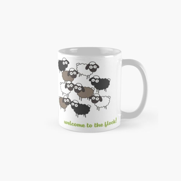 Welcome to the Flock - Baptism Gift Classic Mug