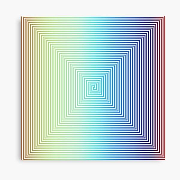 Motley Colored Abstract Pattern, ILLusion, Motif, Visual Art, Wallpaper, Pattern Canvas Print