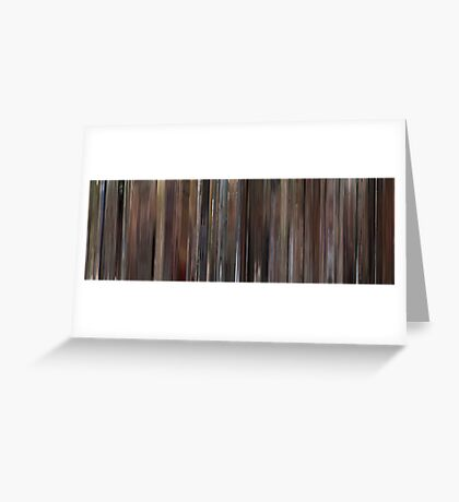 Moviebarcode: When Harry Met Sally (1989) Greeting Card