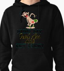 ★ټKiss My Irish Ass and Get Lucky Hilarious Clothing & Stickersټ★ Pullover Hoodie
