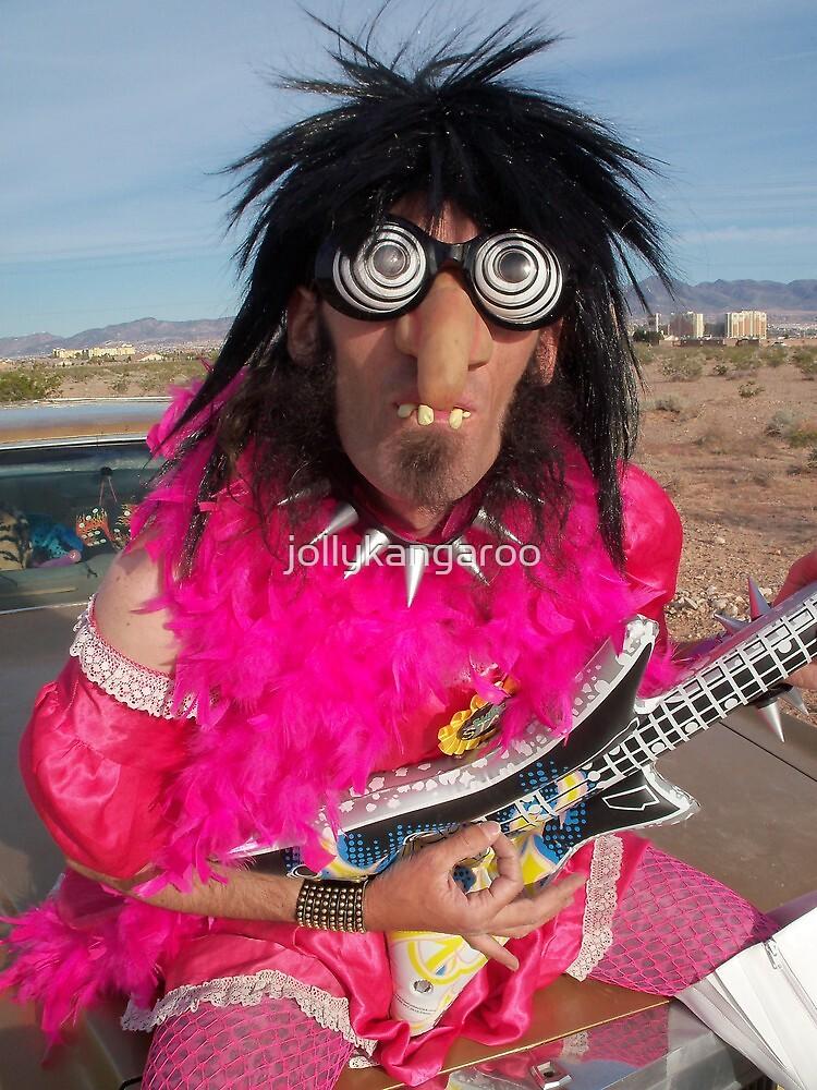 Pink Glam Rock Queen by jollykangaroo