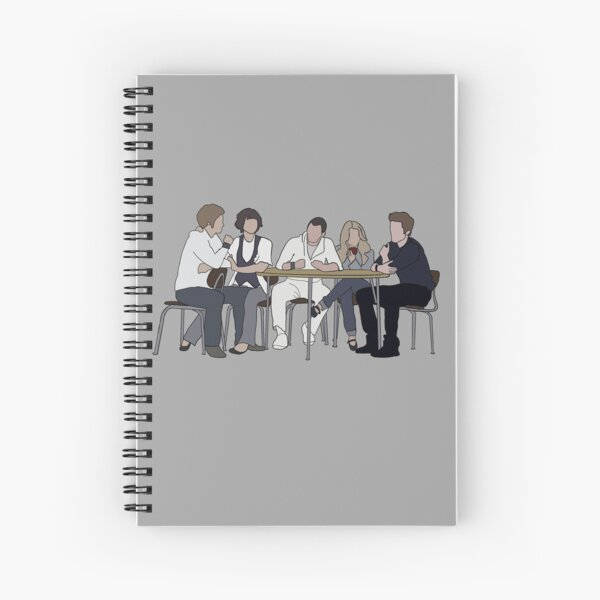 Who are they? Spiral Notebook