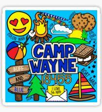 Camp Wayne Sticker