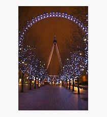 The London Eye.. Photographic Print