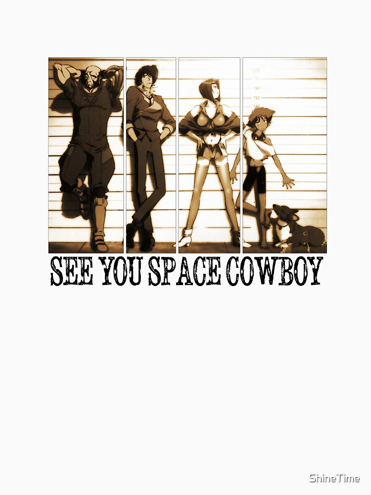 TShirtGifter presents: Cowboy Bebop | Unisex T-Shirt