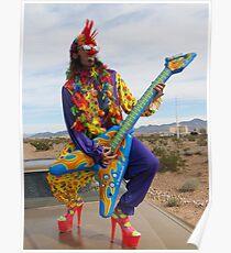 Punk Clown Poster