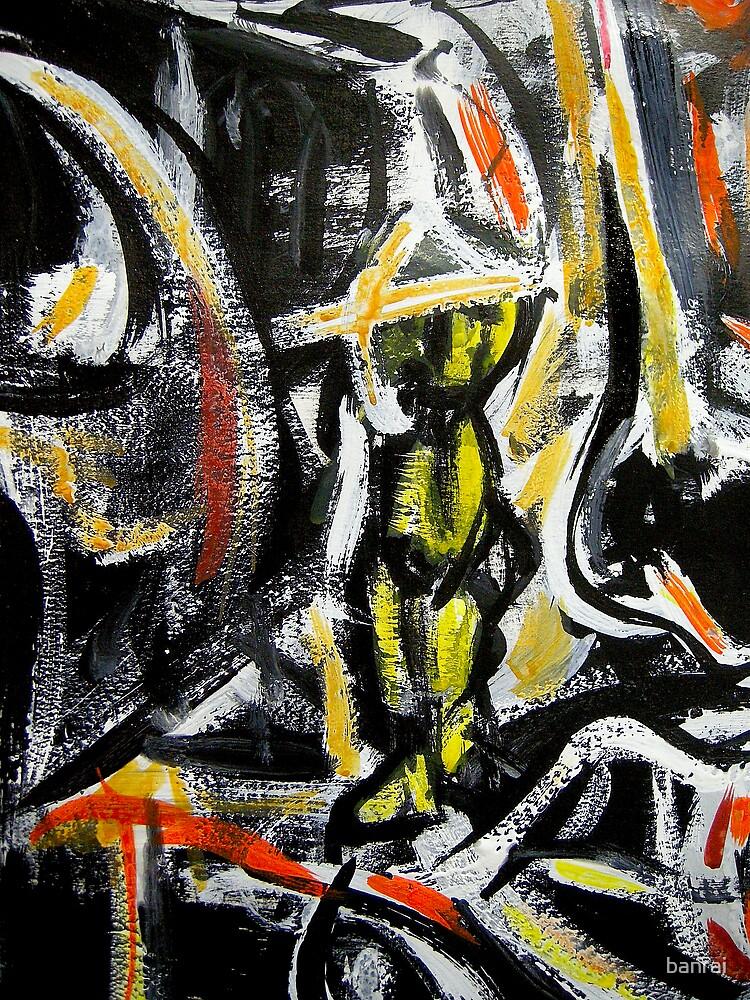 yellow urban man.... by banrai