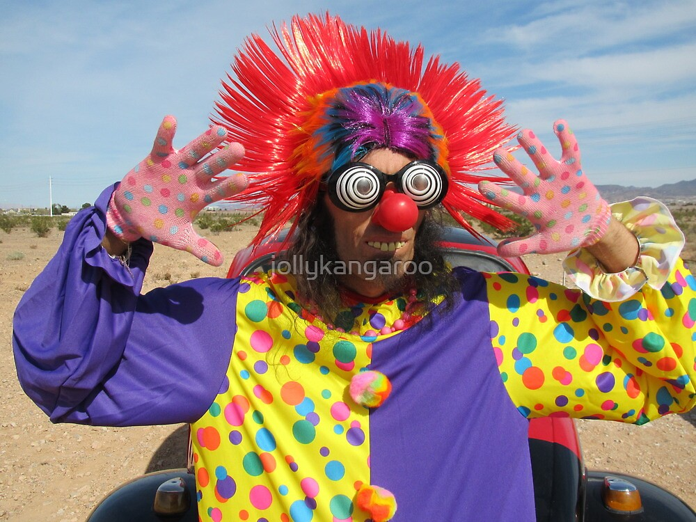 Clown Punk by jollykangaroo