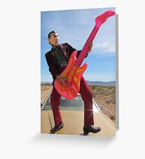 Rock & Roll Man Greeting Card