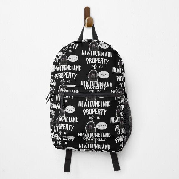 Property of a newfoundland  Backpack