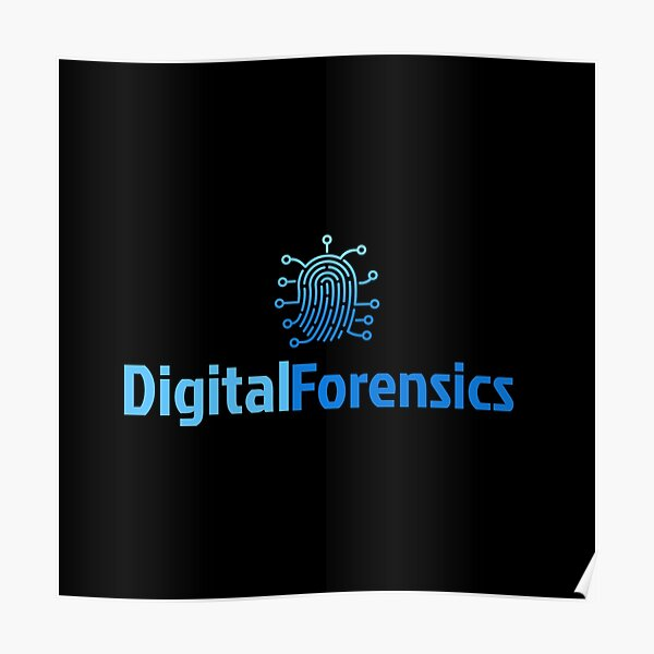 Cyber Security - Digital Forensics  Poster