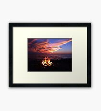 nature's gifts Framed Print