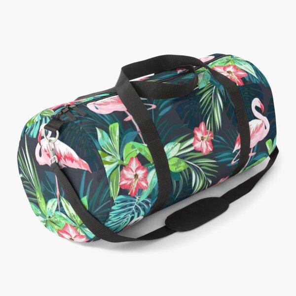 Bright Flamingos Duffle Bag