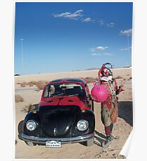 Ladybird Space Hopper Fool Poster