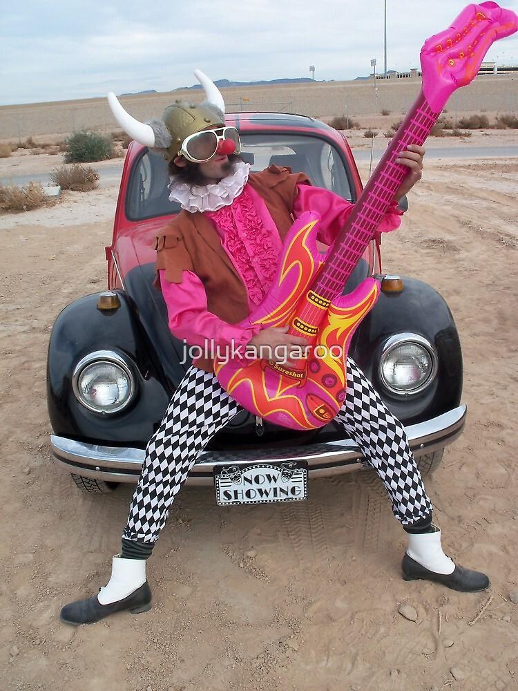 Viking Guitarist by jollykangaroo