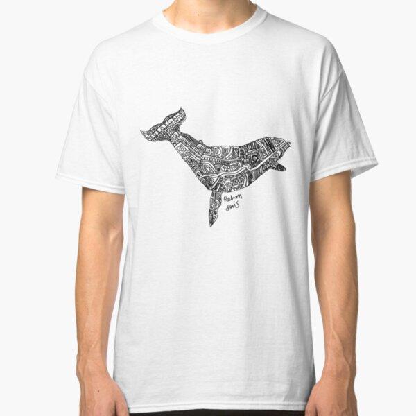 Robot Whale Classic T-Shirt