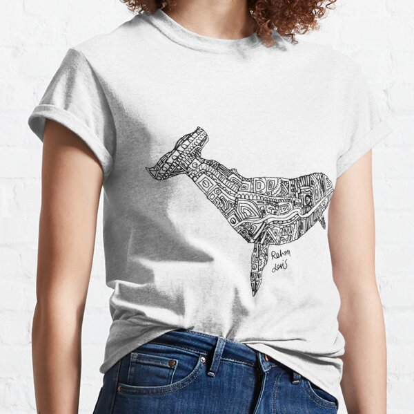 Robot Whale Classic T-Shirt