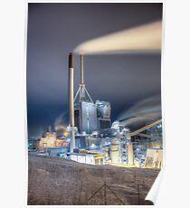 Kymijärvi power plant Poster