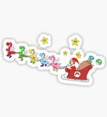 Sleigh Ride Sticker