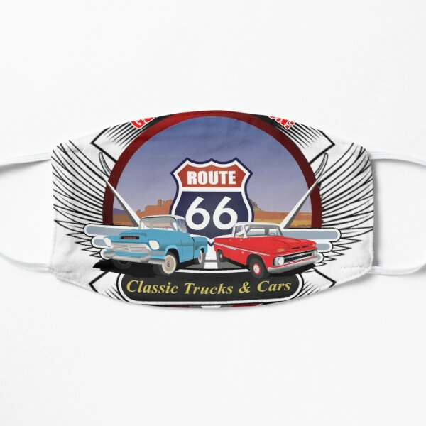 GET YOUR KICKS ON ROUTE 66 Mask