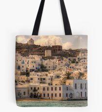 Mykonos Village Tote Bag